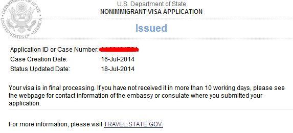 美國簽證護照狀態查詢。能加急嗎 - 每日頭條