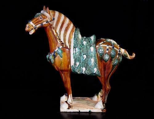『唐三彩馬起源』 陶瓷拍賣最高價 - 每日頭條