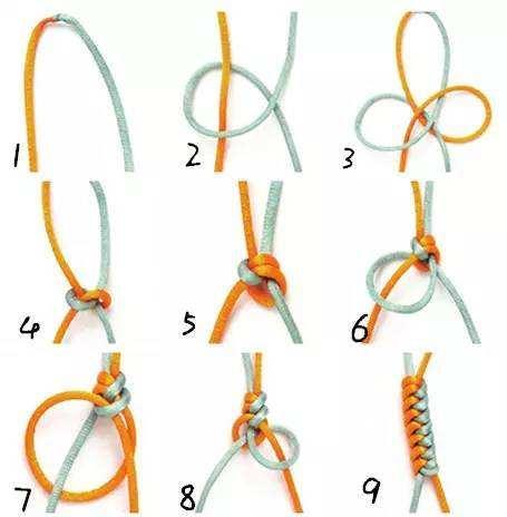 手鍊編織基礎之金剛結 - 每日頭條