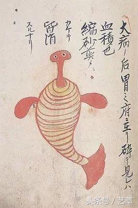 寄生蟲的最早記載,竟然來自日本? 藝術畫譜 - 每日頭條
