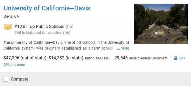 2018USNews美國最佳公立大學Top20。你的學校上榜了嗎? - 每日頭條