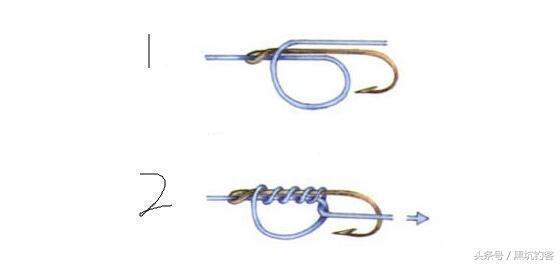 釣魚綁鉤,打結圖解,其實很簡單不用再求人 - 每日頭條