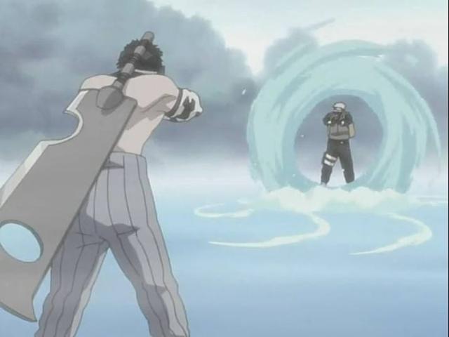 火影忍者裡面有哪些酷炫的水遁忍術? - 每日頭條