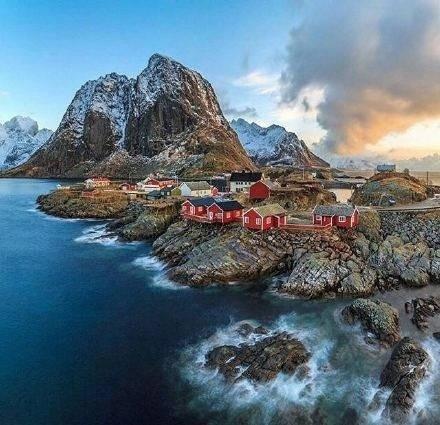 這是仙境還是夢境?挪威lofoten群島 - 每日頭條