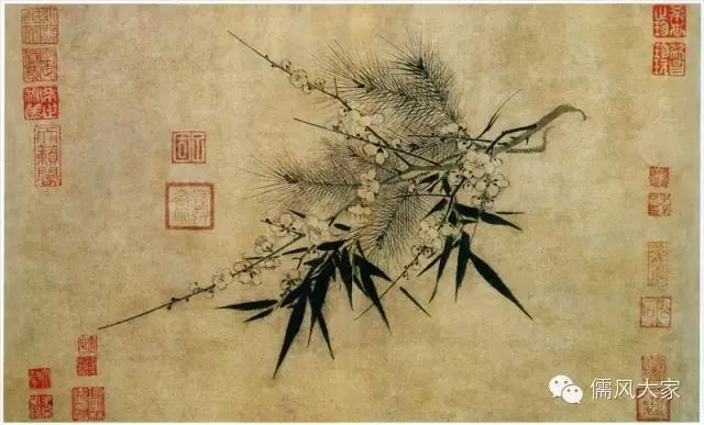 歲寒三友對聯30副,心寬天地遠,有竹人不俗 - 每日頭條