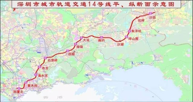 深圳坪山未來有哪些地鐵?深圳地鐵16號線和23號線已經規劃曝光 - 每日頭條