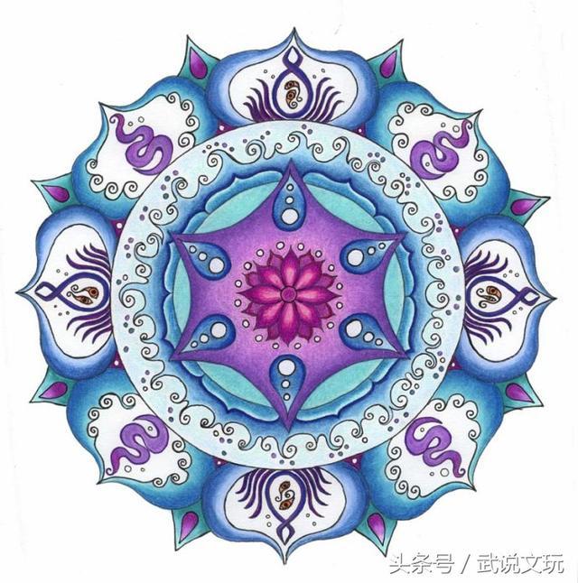 曼陀羅能量圖 據說多看能夠提升靈性 - 每日頭條