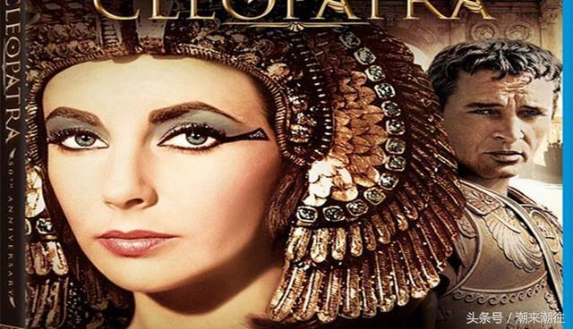 《埃及豔后》走進了電影,和巨星伊莉莎白泰勒 - 每日頭條
