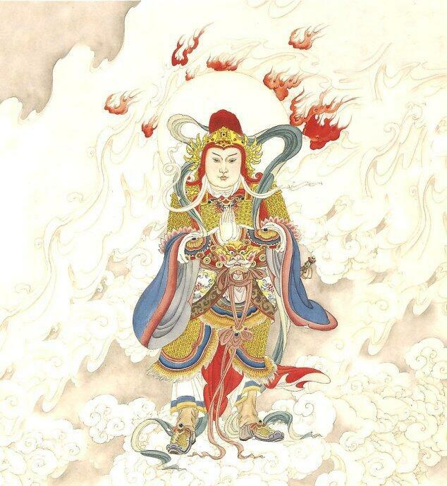 「娑婆世界總護法,韋馱菩薩誕辰日」忘煩 - 每日頭條