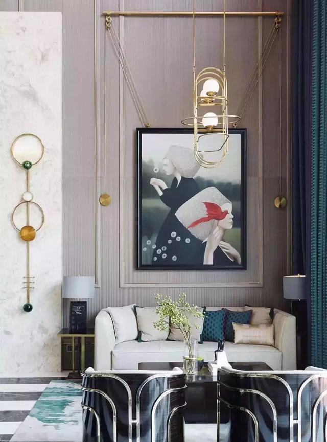 聖菲軟裝:如何讓一幅畫驚艷你整個家! - 每日頭條