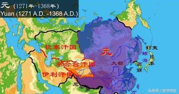 中國歷史上有幾個朝代國土面積超過現在?有一個你絕對想不到 - 每日頭條