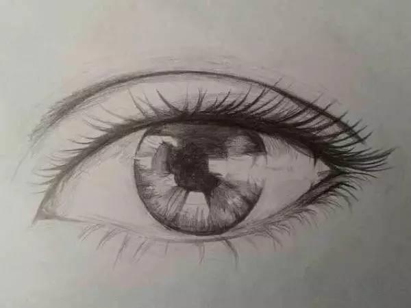 畫人物不會畫眼睛?多種技法的眼睛畫法,偷偷告訴你哦! - 每日頭條
