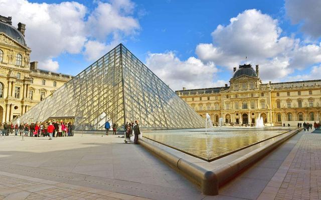 巴黎羅浮宮玻璃金字塔居然出自華人之手 - 每日頭條