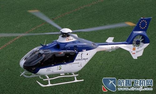 歐洲直升機EC-135:雙發多用途機型典範 - 每日頭條