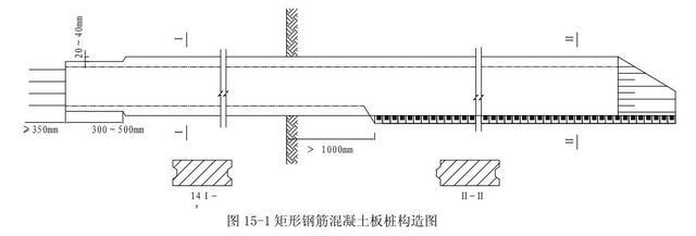 鋼筋混凝土板樁構造設計 - 每日頭條