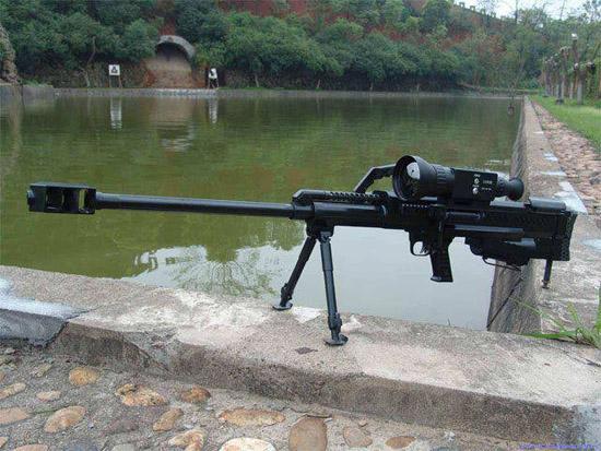 十年前的外貿貨,國產LR-2A型12.7毫米半自動狙擊步槍 - 每日頭條