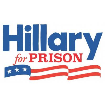Billedresultat for Hillary For Prison