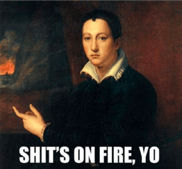 Image result for renaissance memes