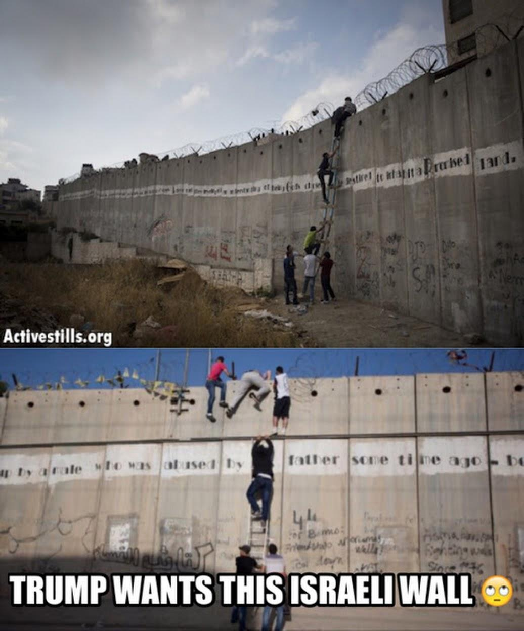 Donald trumps failed wall idea