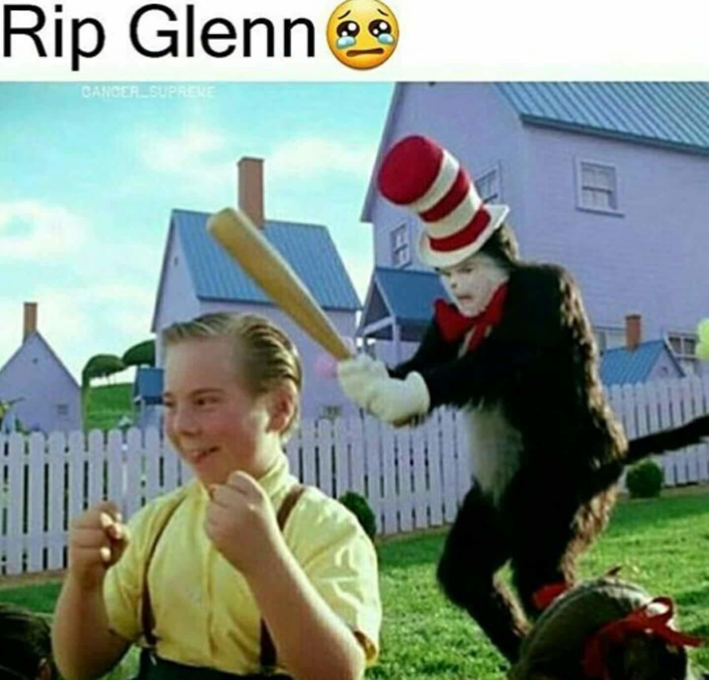 RIP Glenn  Cat in the Hat  Know Your Meme
