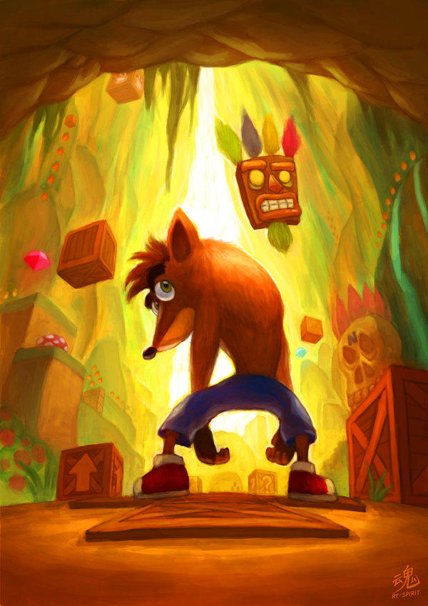 Crash Bandicoot Respect Thread