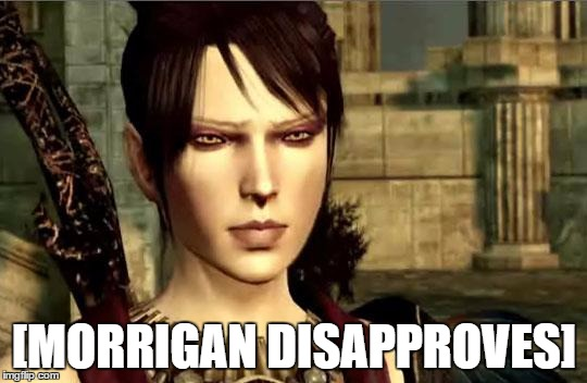 Image result for morrigan disapproves meme