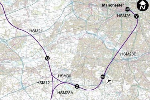 Many residents unaware of how HS2 will affect their homes - Manchester Evening News