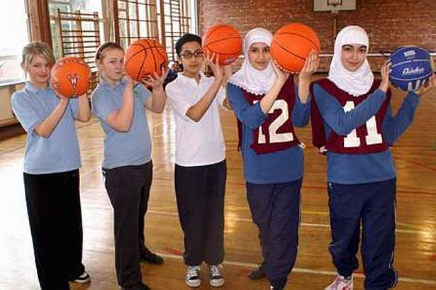 Its Sport For All At Girls School Manchester Evening News