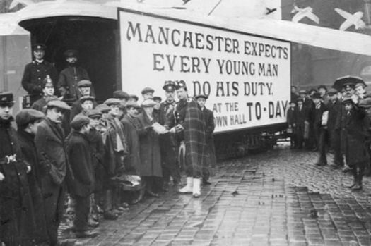 Manchester in 1914