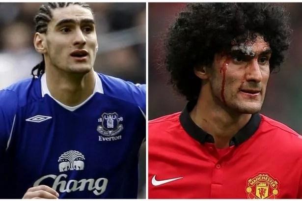Marouane Fellaini New Haircut Manchester United