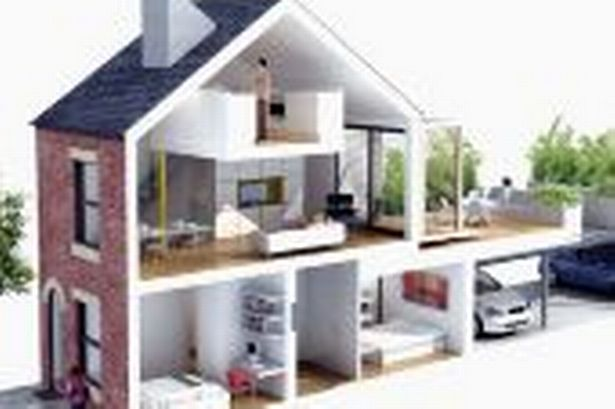 Upside Down Houses Step Nearer Manchester Evening News