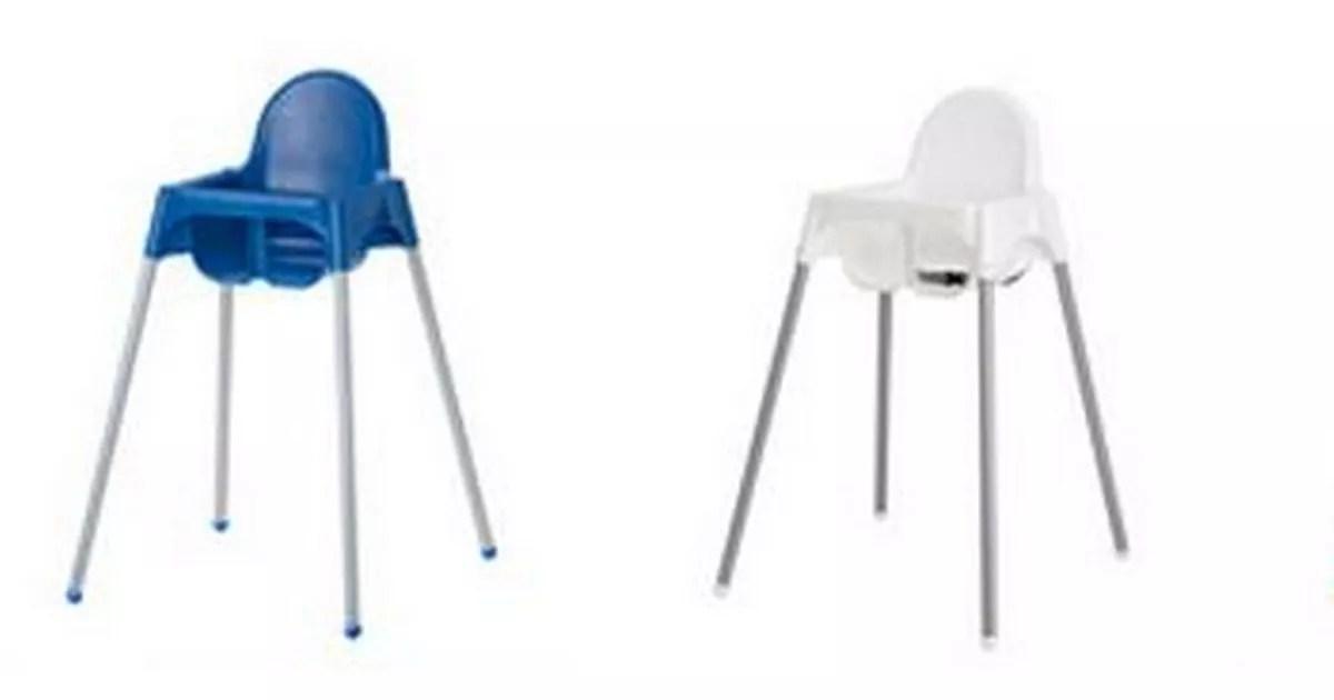 Ikea high chair recall