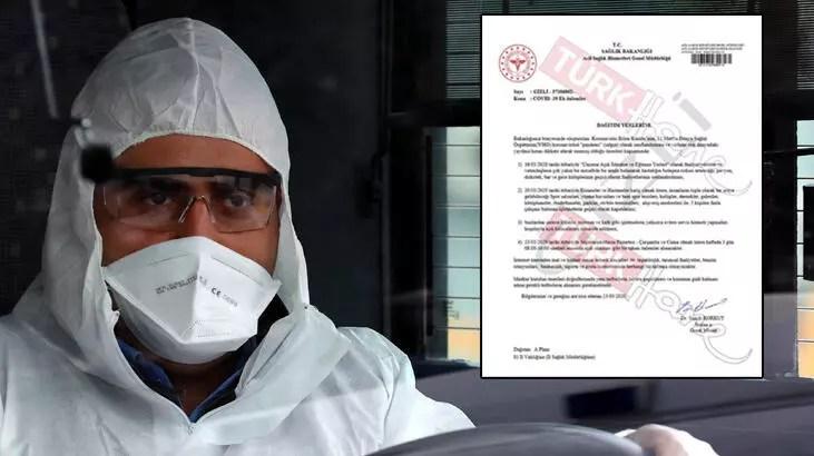 Son dakika: Sağlık Bakanı Koca açıkladı! Corona virüsü önlemleriyle ilgili sahte genelge rezaleti