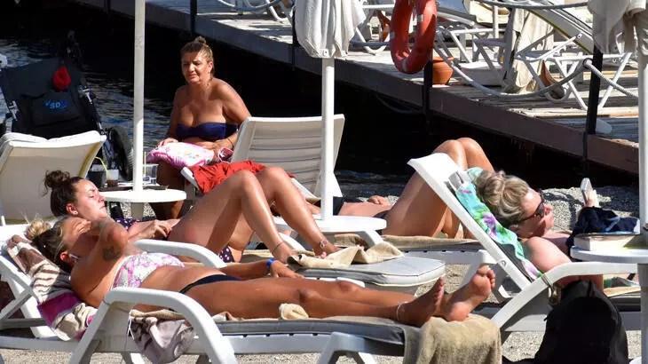 İngiliz turist yaz tatili için Türkiye'yi seçiyor
