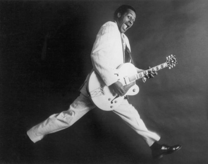 Rock and roll musician Chuck Berry
