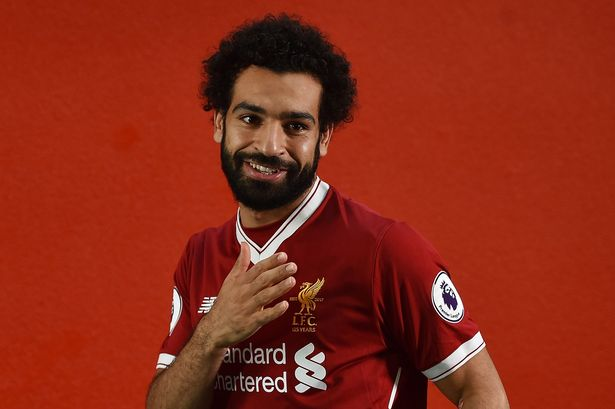 Image result for mohamed salah liverpool