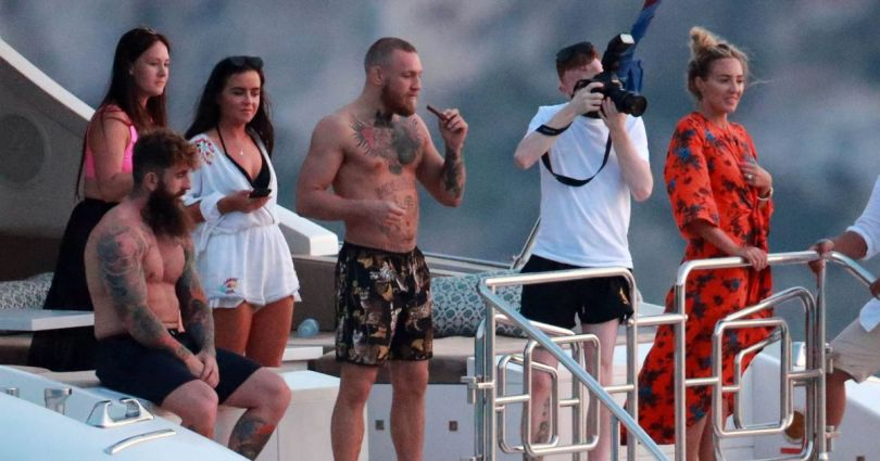 Image result for Mcgregor on yacht