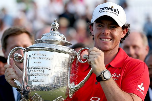 Mac attack! Rory McIlroy bounced back to form with USPGA victory