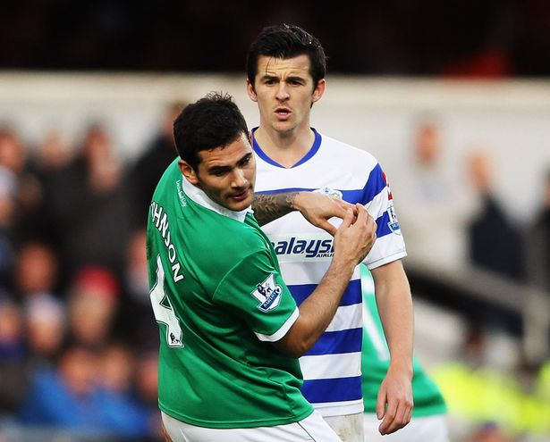 Image result for JOEY BARTON spat