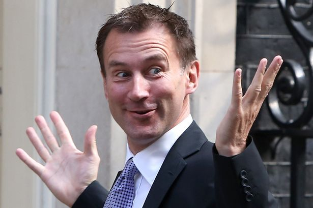 Image result for Mr Jeremy Hunt