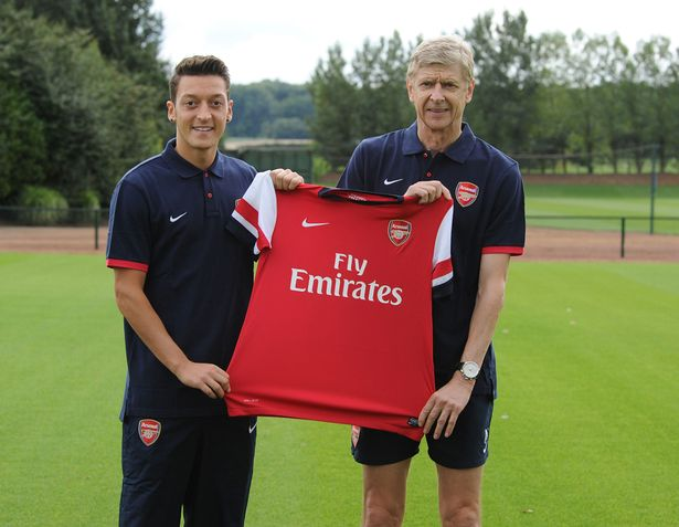 Image result for Ozil: Arsenal always my first choice when leaving Real Madrid