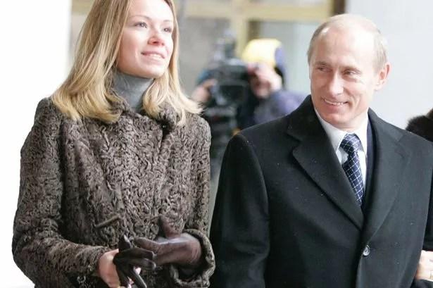 President Vladimir Putin and his wife Lyudmila