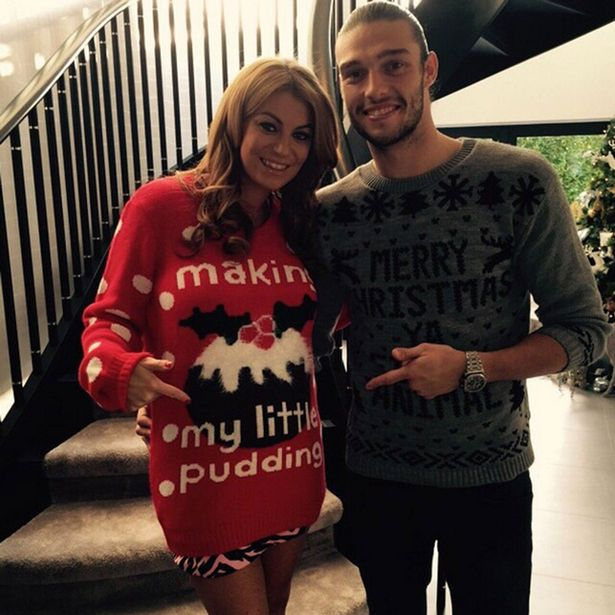 Billi Mucklow And Andy Carroll Announce Baby News On