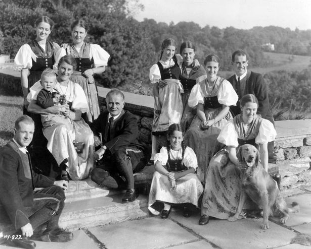 Image result for the von trapp family