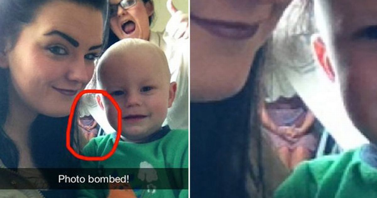 'Ghost' Girl Spotted In Teenager's Snapchat Selfie Might