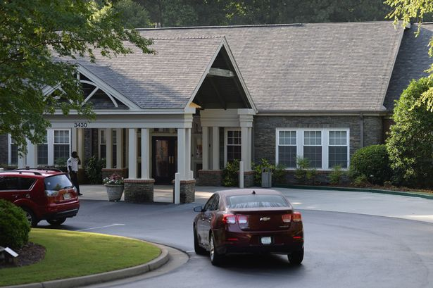 Peachtree Christian Hospice where Bobbi Kristina has been transferred to
