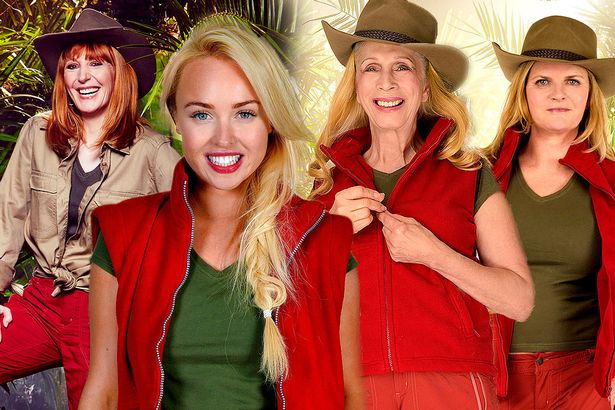I'm A Celebrity 2015 the girls