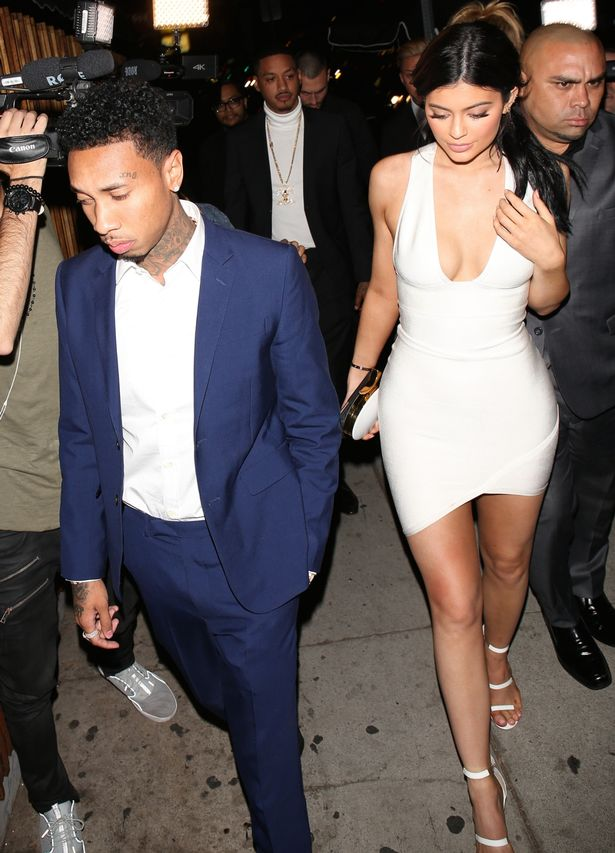 Kylie Jenner and Tyga back together at the American Music Awards