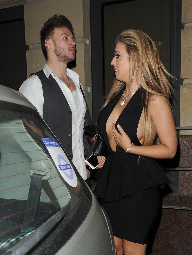 Holly and Kyle pictured together after partying in London