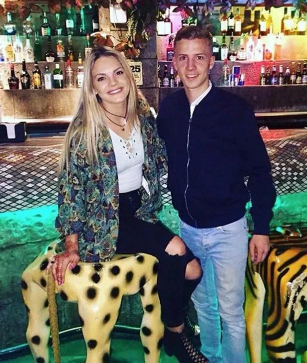Louisa Johnson and reported ex-boyfriend Ellis Stevens
